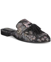Kenneth Cole Reaction Women's Rain Down Tassel Mules Women's Shoes Black Multi