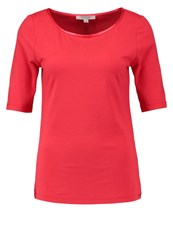 Comma Casual Identity Basic Tshirt Koralle Coral