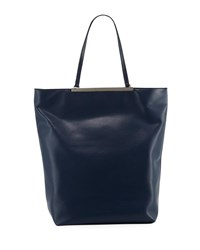 French Connection Ruby North South Faux Leather Tote Blue
