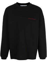 Alexander Wang Round Neck Jumper Black