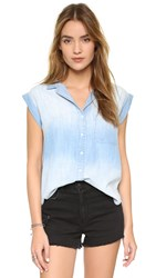 Bella Dahl Welt Pocket Shirt Bay Wash