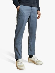 Ted Baker Bake Sincere Slim Fit Chinos Mid Blue