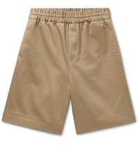 Acne Studios Richard Cotton Twill Shorts Sand