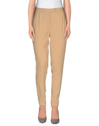 Tru Trussardi Trousers Casual Trousers Women Camel