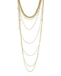 Nakamol Golden And Freshwater Pearl Multi Strand Necklace