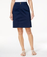 Charter Club Comfort Waist Skort Only At Macy's Intrepid Blue