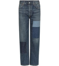 Citizens Of Humanity Cora High Rise Cropped Jeans Blue
