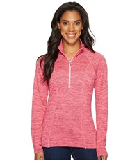 Kuhl Vara 1 4 Zip Lotus Women's Long Sleeve Pullover Pink