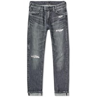 Denim By Vanquish And Fragment Remake Tapered Jean Black