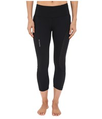 Columbia Trail Flash Capri Pants Black Women's Capri