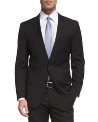 Boss Huge Genius Slim Fit Basic Suit Black