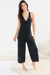 Out From Under Evi Midi Jumpsuit Black