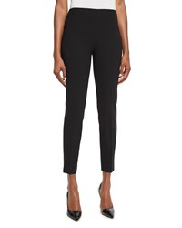 Ralph Lauren Annie Cropped Wool Crepe Pants Black