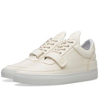 Filling Pieces Low Top Strap Sneaker Neutrals