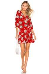 Yumi Kim Love Wins Dress Red