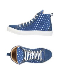Gold Brothers Sneakers Blue