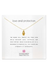 Dogeared Women's Love And Protection Pendant Necklace