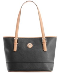 Giani Bernini Saffiano Tote Black