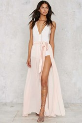 Nasty Gal Jump Maxi Sheer Skirt