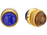 Marc By Marc Jacobs Cabochon Magnetic Stud Earrings Lapis Multi Earring Navy