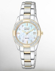 Citizen Ladies' Regent Two Tone Diamond Watch