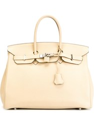 Hermes Vintage 'Birkin Parchemin' Tote Nude And Neutrals