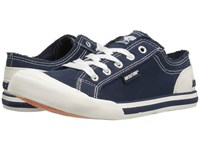 Rocket Dog Jazzin Navy 8A Canvas Women's Lace Up Casual Shoes
