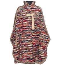 See By Chloe Wool Blend Coat Multicoloured