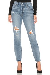 By The Way Jagger Skinny Jeans Mid Blue Wash