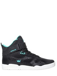 Supra Bleeker Leather High Top Sneakers