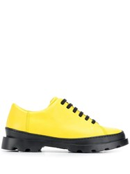 Camper Brutus Low Top Sneakers Yellow