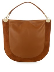 Diane Von Furstenberg Moon Small Bag Tan
