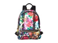 Betsey Johnson Clear Floral Backpack Multi Backpack Bags