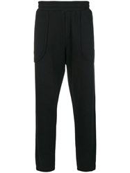 Mcq By Alexander Mcqueen Glyph Icon Tracksuit Trousers Black