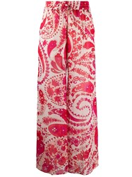 Twin Set Paisley Print Trousers 60