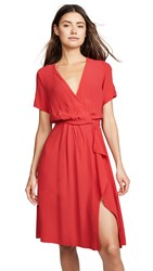 Yumi Kim Mimosa Dress Scarlet