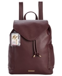 Rampage Customizable Perforated Pocket Backpack With Pins Only At Macy's Wine