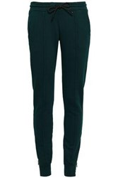 Cotton Citizen Woman The Milan French Terry Track Pants Dark Green