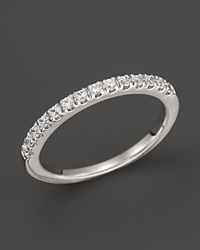 Bloomingdale's Diamond Band Ring In 14K White Gold .30 Ct. T.W.