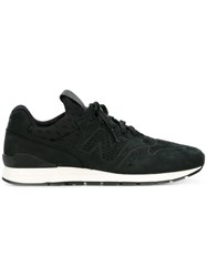 New Balance Lace Up Trainers Black
