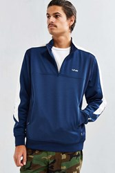 Undefeated Strike Half Zip Sweatshirt Navy
