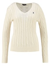 Polo Ralph Lauren Kimberly Jumper Cream Off White