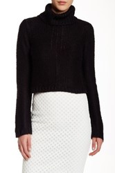 Elizabeth And James Pebble Turtleneck Sweater Black