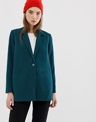 Minimum Longline Tailored Blazer Reflecting Pond Navy