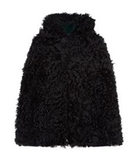 Red Valentino Reversible Shearling Cape Multi