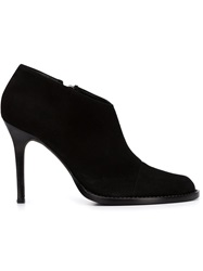 Ad Ann Demeulemeester Stiletto Heel Ankle Boots Black