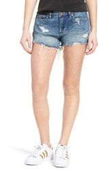 Blank Nyc Women's Blanknyc Little Queenie Ripped Jean Shorts