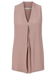 Minimum Cea Sleeveless Top Wood Rose