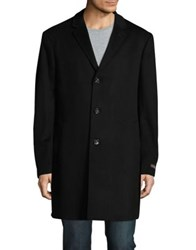 Black Brown Long Sleeve Coat Navy Marine