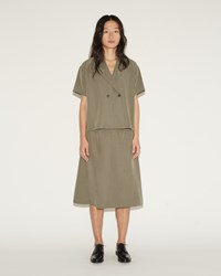 Moderne New Slip Skirt Tobacco